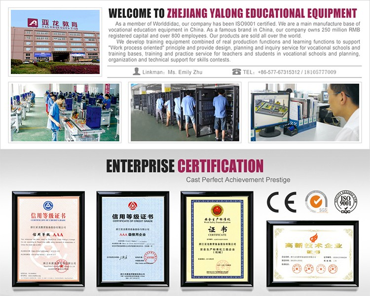 power steering system laboratory equipment ,hydraulic Training Unit ,Education Kit,Training Equipment