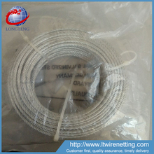 Ungalvanized 1x19 1mm 304 stainless steel wire rope