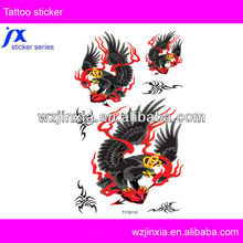 fire artificial tattoo temporary body jewelry tattoo