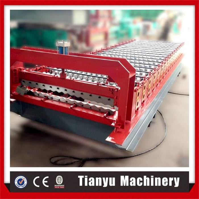 Corrugated zinc roofing sheet roll forming machine do small business at home
