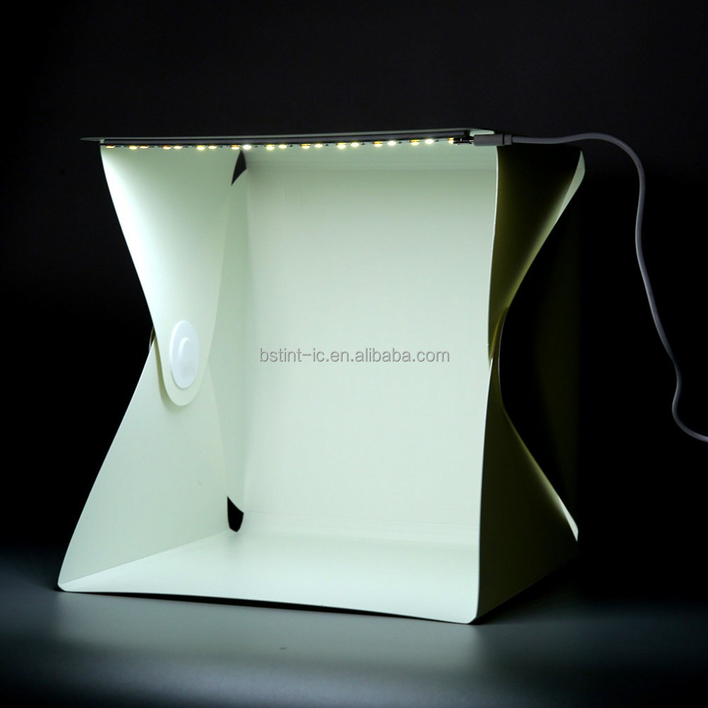 LED mini Softbox Portable Camera Photo Light Room Box Tent Studio Tent