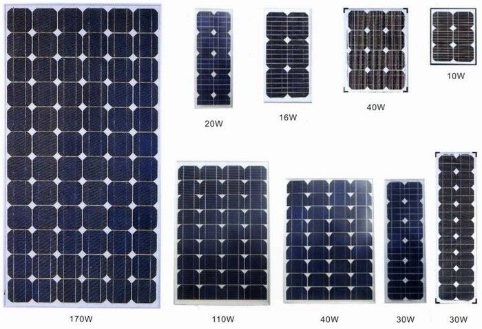 Y-SOLAR 25 Year Warranty 5W Monocrystalline Solar Panel Price