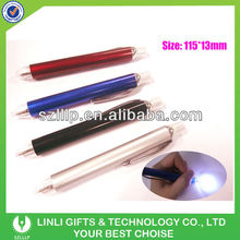 Logo Promotion Plastic Led Pen Light Tip