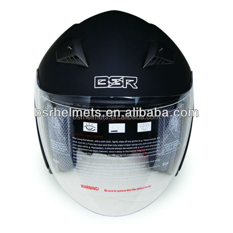 Motorcycle Open Face Helmet with ECE 22.05