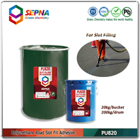 paramagnetic paint road construction material