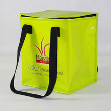 BSCI lunch box/insulated lunch zero degrees inner cool cooler bag