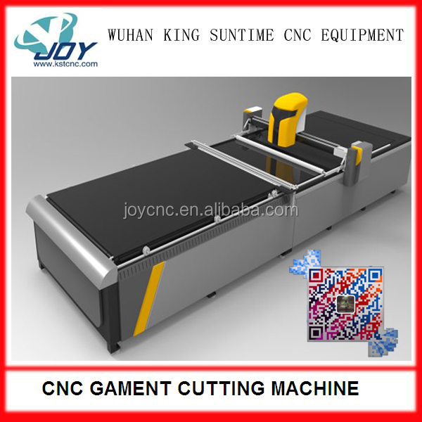 CNC Auto computer cutting machine garment industry used machine
