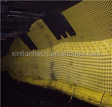Polyester Mine Grid Replacement Steel Wire Mesh with High Tenacity