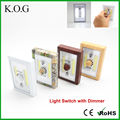 COB LED Dimming Switch Light with Dimmer for Bedrooms Closets Hallways