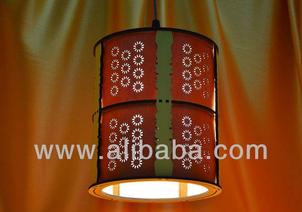 Decorative Wooden Light/lantern