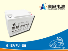 12V80Ah maintenance free lead acid AGM GEL factory price electric vehicle battery