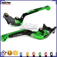 BJ-LS-001A For Kawasaki Z800 Billet Folding CNC Aluminum Motorcycle Clutch Brake Levers
