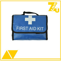 Portable foldable medical first aid bag