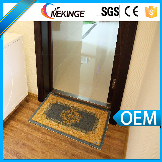 Hot sale custom logo mat/door mat/welcome mat in 2016