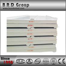 corrugated pu sandwich panel roof sheet forming
