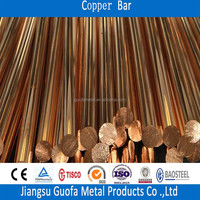 8mm 16mm Copper Alloy Material Round Copper Rod