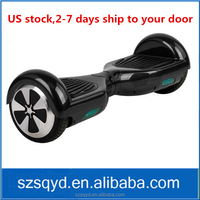 2015 fashion 6.5 inch hover board scooter air wheel scooter Christmas gift free shipping to US 002830