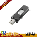 oem custom push and pull plastic usb flash drive 8GB