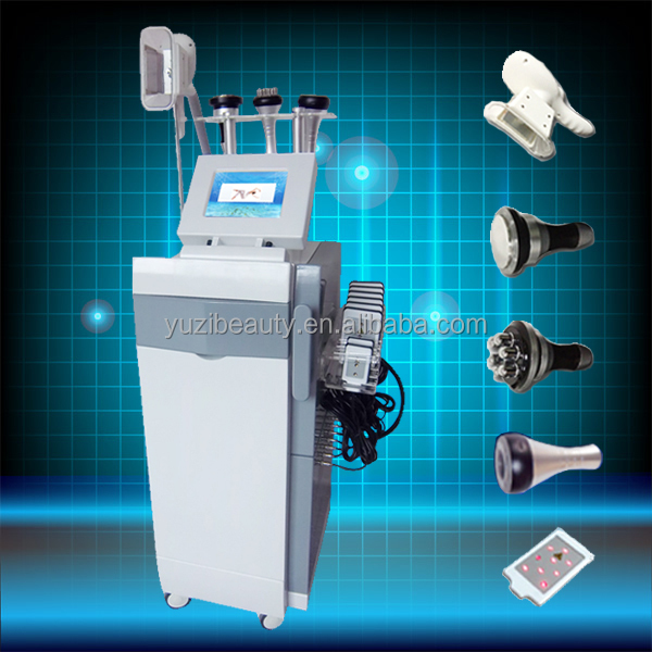 Professional 5 in 1 anti cellulite cryo body cool shape machine for beauty