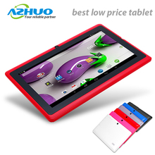 Hot Selling 7 inch android 4.4 quad core a33 best low price tablet pc