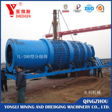Gold processing plant and gold separating machine