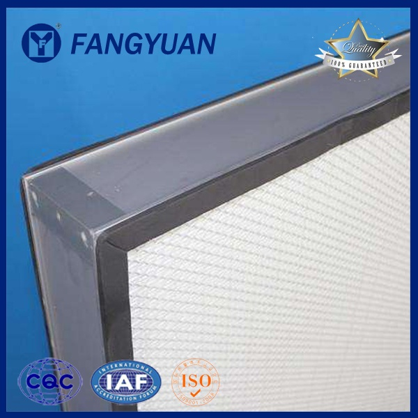 Plate High Efficiency Square Filter