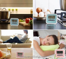 MINI Magnetic Digital LCD Kitchen Timer Count Up Down Egg Cooking 5 Colors New