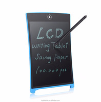 2016 Parblo 8.5'' E-writer Electronic Digital Writing Tablet Memo Board Bulletin BoardDrawing Board LCD Graphic Tablet,Blue