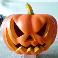 Fiberglass PumpkinHead for Helloween Fiberglass Large Pumpkin