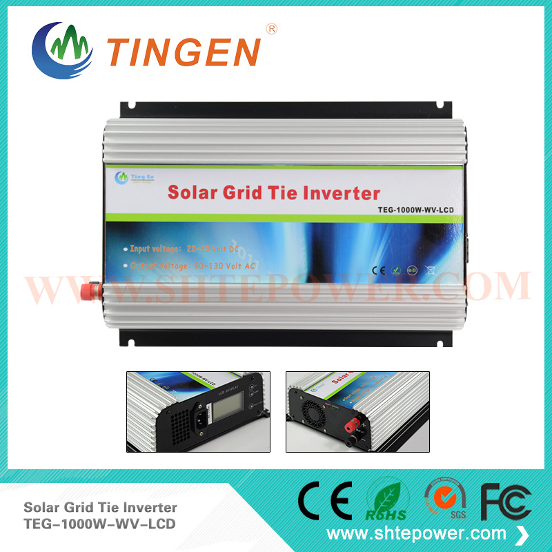 PV grid tie inverters 1000w solar panel inverter 1kw <strong>dc</strong> 45-90v pv input