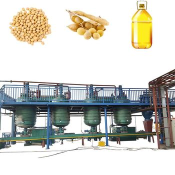 Hot Selling Turnkey Project Soybean Oil Refining Machine