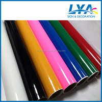 China manufacturer cheap cost self adhesive color vinyl film