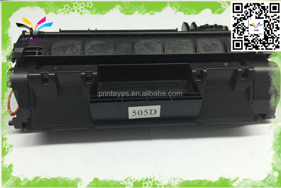 Factory Supply Black Toner Cartridge for HP CE505A/CE505X(05A/05X)