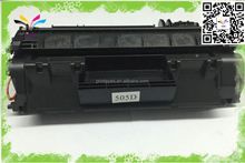 Original quality compatible CE505Xfor toner cartridge