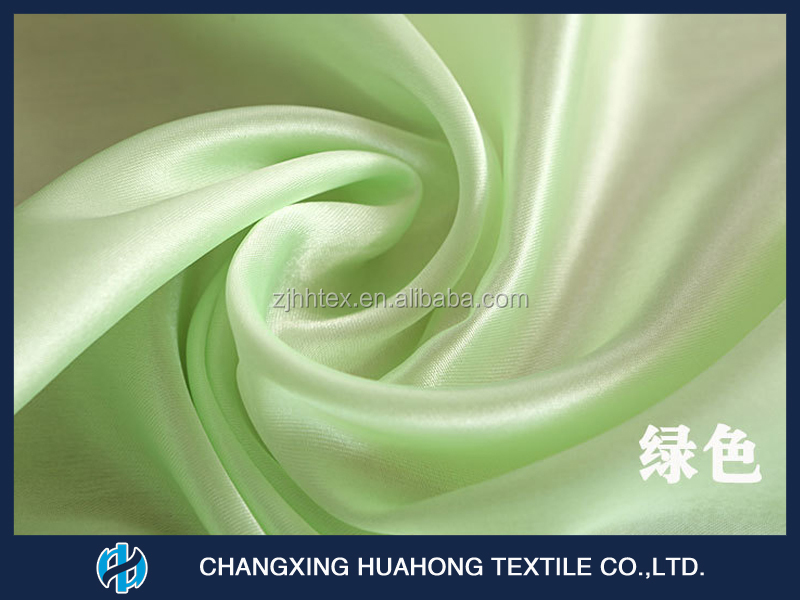 Shrink-Resistant 100% polyester satin blackout curtain fabric for hometextiles