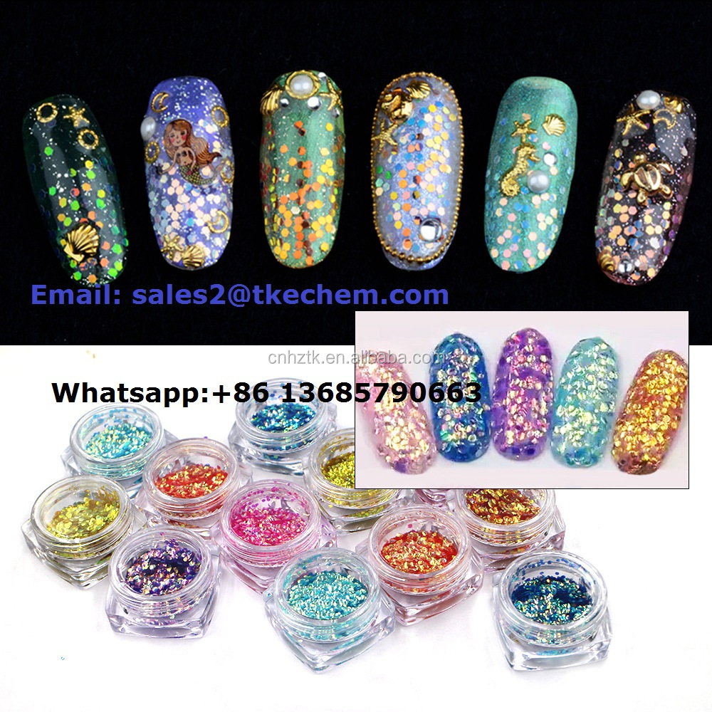 fish scale collagen pigment powder for nail art