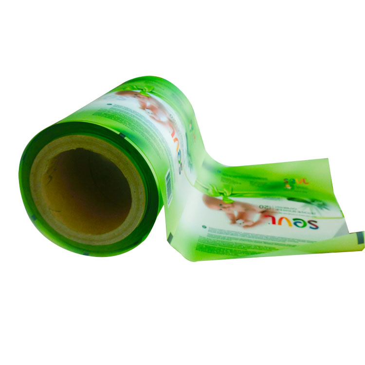 Eco-friendly and Healthy Baby Wet Wipes Packing Roll Film