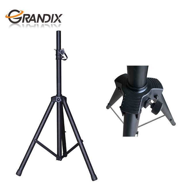 Universal Speaker Stand Mount Holder - Heavy Duty Tripod <strong>w</strong>/Adjustable Height
