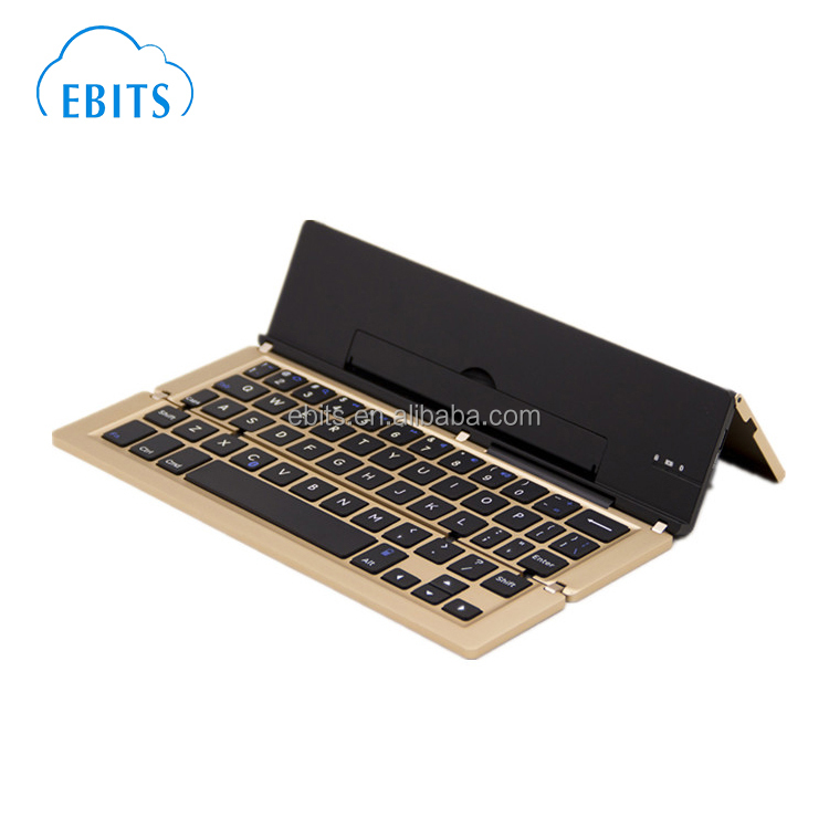 Portable foldable wireless bluetooth pocket keyboard universal for smart phone/ipad