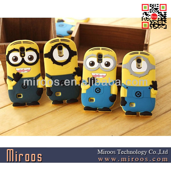 for galaxy s4 minions cover
