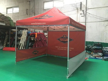 3*3m Folding Exhibition Advertising Beach Canopy Tent with Sidewalls