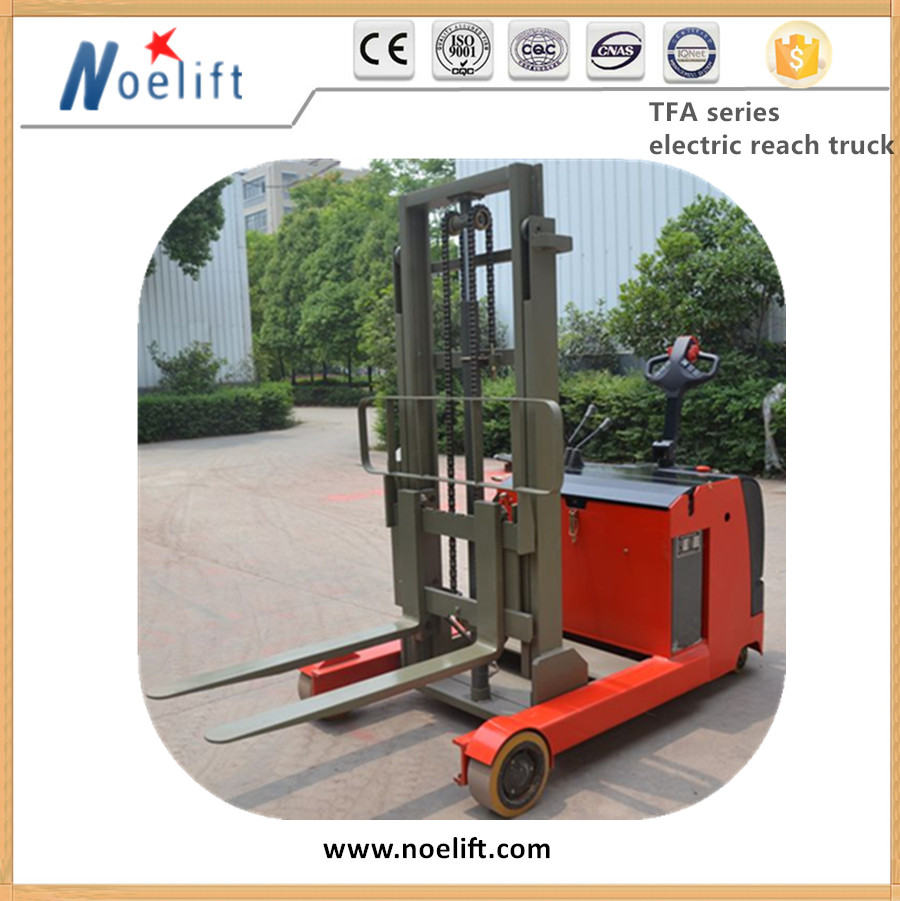 Mast Lowered Height 1.5-2 Ton Electric Reach Truck