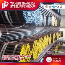 ASTM A53 Gr.B hydraulic cylinder low carbon seamless steel pipe price list