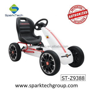 New Licensed Abarth Kids Ride on Toys 4 Wheel Pedal Go Kart for Kids