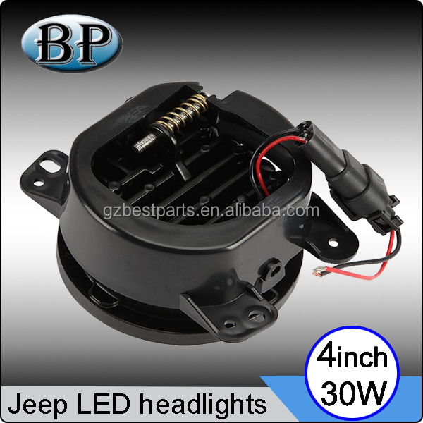 "Best price!!! Car accessory 4"" 30W Jeep fog light led headlight for harley motorcycle C REE headlight for trucks, atv"