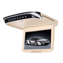 cheap 10 inch TFT roofmountb super slim car monitor with USB/SD Card Reader