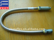stainless steel flexible metal fire sprinkler hose/stainless steel flexible pipe connections