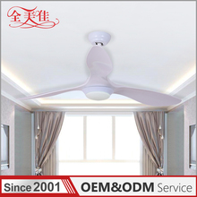 Zhongshan High Quality Abs 3 Blade Bed Room 220V Ceiling Fan With High Rpm