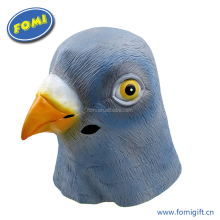 Fashionable party mask latex soft animal bird head mask
