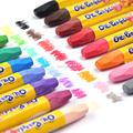 24 color oil pastel office stationery items names